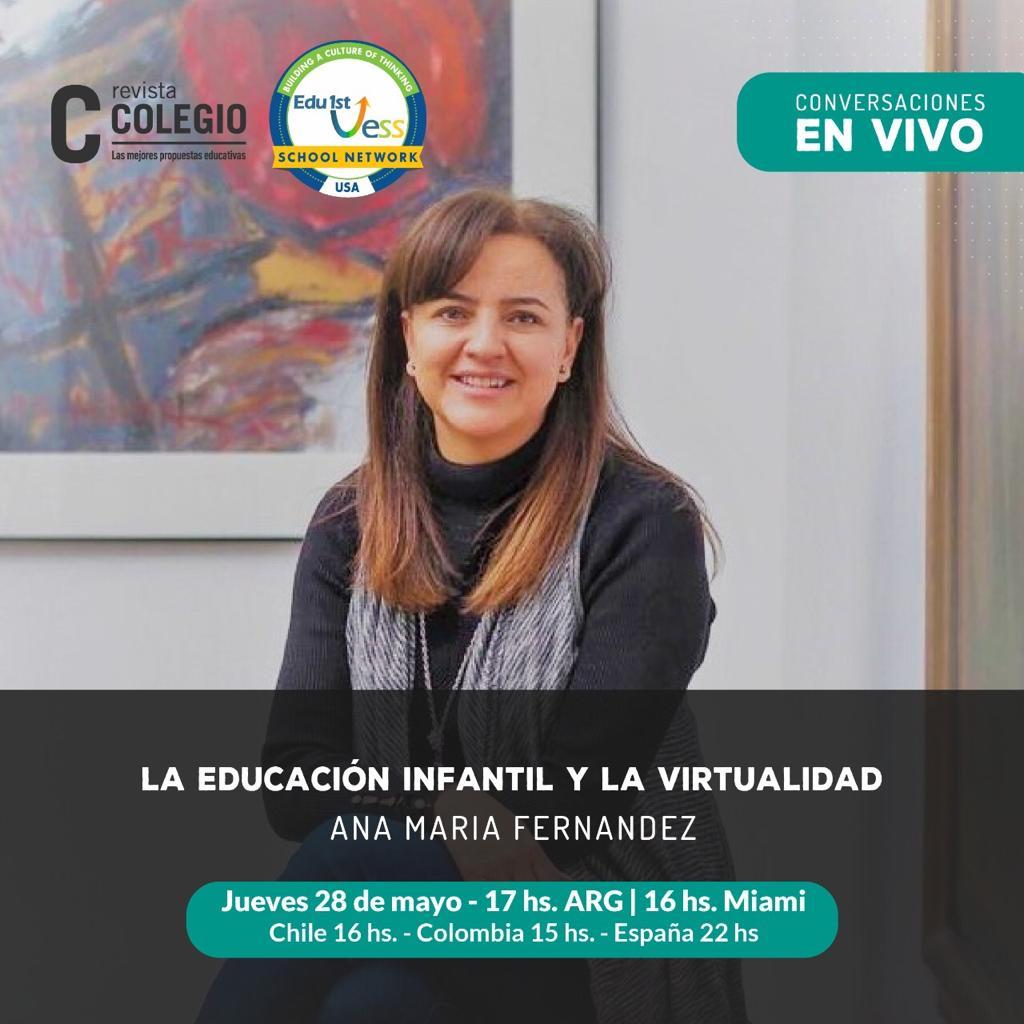 Ana María Fernández, fundadora de Edu1st
