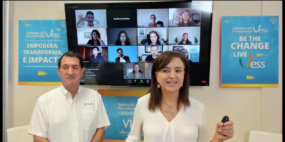 Ana María Fernández y Gilberto Pinzón, fundadora y cofundador de Edu1st.
